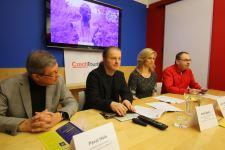 Tisková konference v Praze